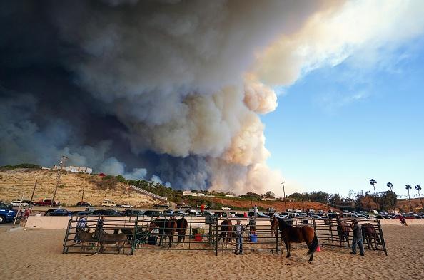California declara estado de emergencia por incendios