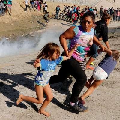 Trump defiende uso de gas lacrimógeno contra migrantes en la frontera