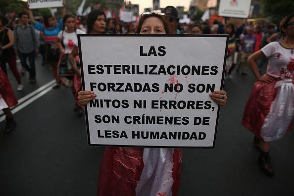 Denuncian a Alberto Fujimori por esterilizaciones forzadas