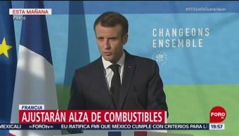 Francia Ajustará Alza A Los Combustibles