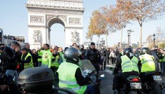 francia suman 409 heridos durante protestas por gasolinazo
