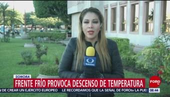 Frente Frío Provoca Mal Tiempo Norte De México Coahuila Sonora Bajas Temperaturas