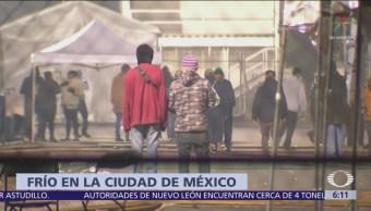 Frío afecta a migrantes y personas en situación de calle en la CDMX