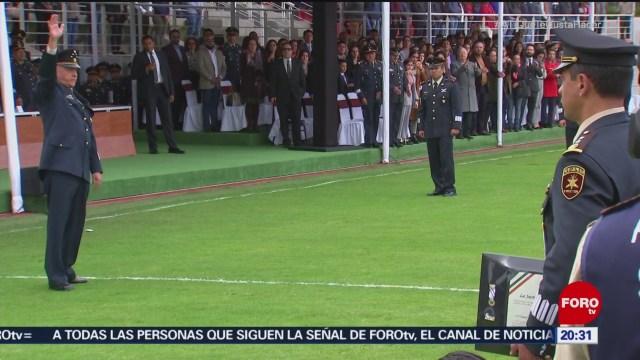 General Salvador Cienfuegos Se Despide De La Tropa