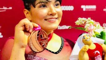 Alexa Moreno, única gimnasta mexicana