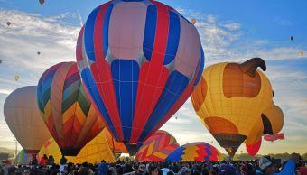 Festival del Globo pinta de colores el cielo de León