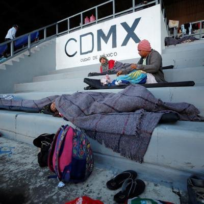 Gobierno federal no participa con apoyos a migrantes en CDMX, dice Armando Quintero