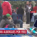 Habilitan albergues por frío en Coahuila