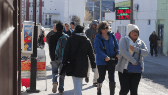 Ciudad Juárez registra 6 grados bajo cero por frente frío 10