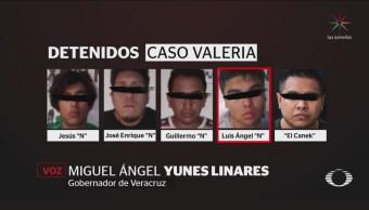 5 Detenidos Por Homicidio De Valeria Cruz Medel