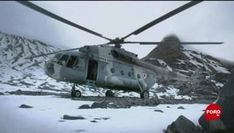 Historias Por Contar Rescatan Cuerpos De Alpinistas, 59 Años Después, Grupo De Tres Alpinistas Pico De Orizaba Rescate De Los Cuerpos