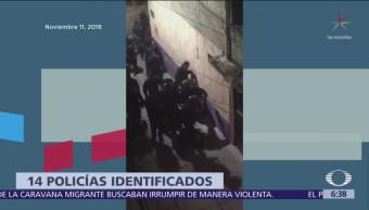Identifican a 14 policías por actos violentos en San Juanico