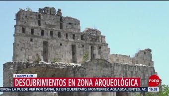 INAH realiza nuevos descubrimientos arqueológicos en Campeche