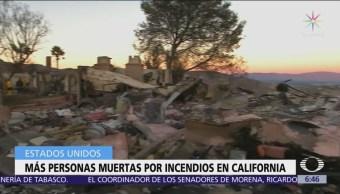 Incendios forestales en California dejan más de 40 muertos