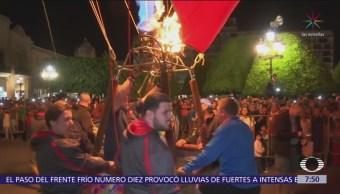 Inicia Festival Internacional del Globo en León, Guanajuato