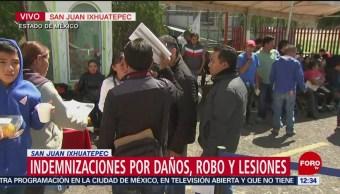 Inician indemnizaciones a afectados por hechos en San Juan Ixhuatepec