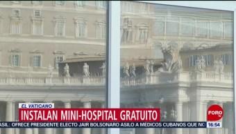 Instalan hospital gratuito para atender a pobres e indigentes