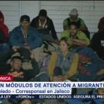 Instalan módulos de atención para migrantes en Jalisco