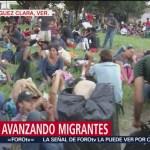 Intensifican atención médica de migrantes en Veracruz