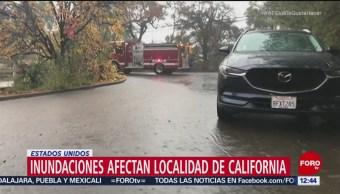 Inundaciones afectan a California, EU