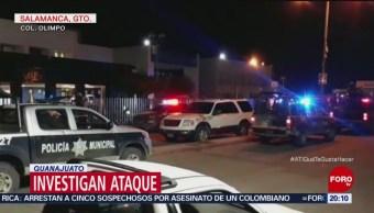 Investigan Ataque Armado Taxistas En Guanajuato
