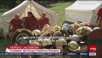 Italianos quieren revivir la historia de Roma