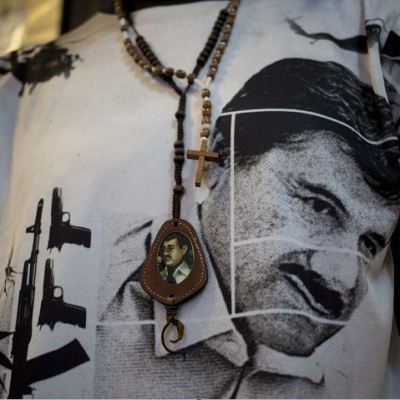 Jesús Malverde, santo de los narcos, aparece en juicio contra el Chapo