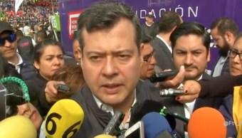 Raymundo Collins no será destituido por San Juanico: Amieva