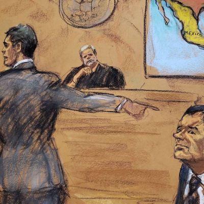 Imágenes del juicio contra 'El Chapo' Guzmán
