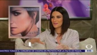 Juntos Laura Pausini y Carlos Rivera