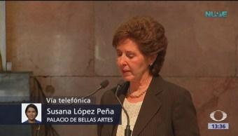 Fernando Del Paso Homenaje Bellas Artes Escritor Fernando Del Paso Homenaje Póstumo Palacio De Bellas Artes