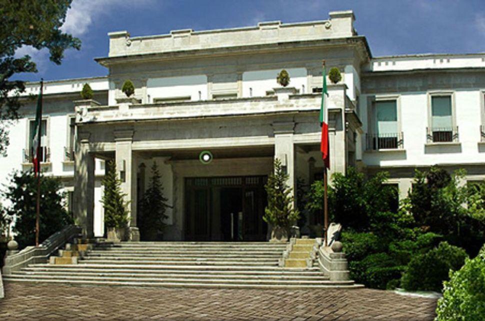 La Casa Miguel Alemán aparace comúnmente en las fotografías de la residencia oficial de Los Pinos (El Economista Archivo)
