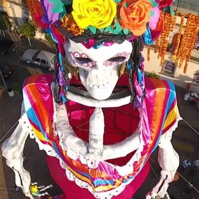 Día de Muertos: La Catrina más grande del mundo está en Jalisco