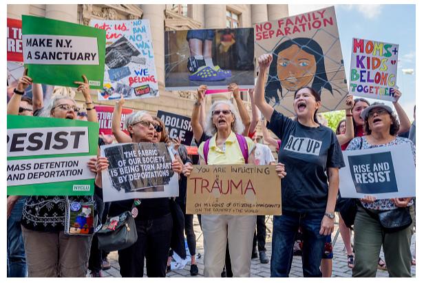 La separación de familias generó protestas en EU. (Getty Images, archivo)