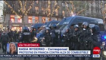 Protestan En Francia Aumentos En Impuestos A Gasolinas Francia Alza De Los Combustibles
