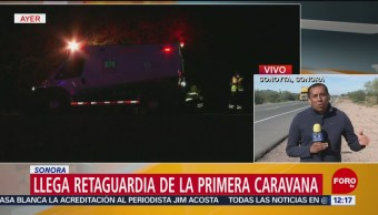 Primera Caravana Migrante Sonora Retaguardia Mexicali