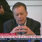 Director de Sacmex comparece ante diputados locales