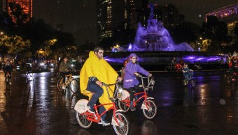 Rompen récord en paseo ciclista de Día de Muertos