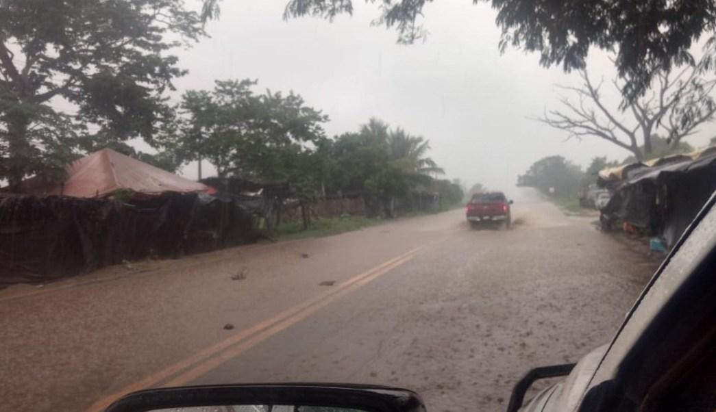 Clima Colima; 'Xavier' provoca aguanieve en zona volcánica