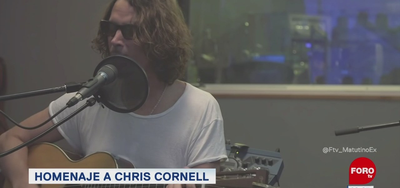 #LoEspectaculardeME: Realizarán concierto homenaje a Chris Cornell