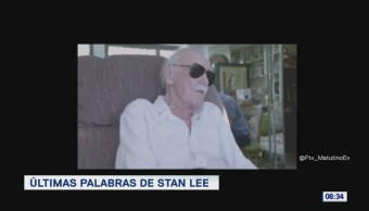 #LoEspectaculardeME: Últimas palabras de Stan Lee