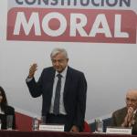 AMLO presenta convocatoria para Constitución Moral