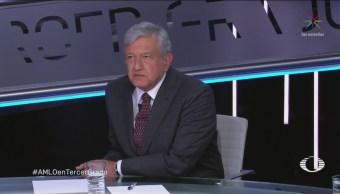López Obrador Rumbo Toma Protesta Tercer Grado