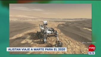 #LoQueVimosEnLaRed: Alistan viaje a Marte para el 2020