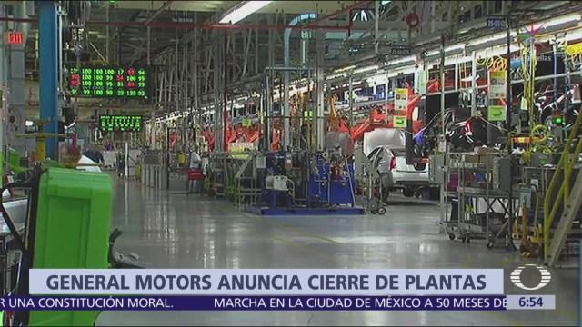 General Motors anuncia despido de 14 mil 500 trabajadores