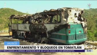 Hombres armados atacan a marinos en Tomatlán, Jalisco