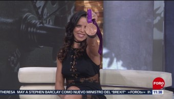 Luz Mercedes Acosta, nueva medallista olímpica mexicana