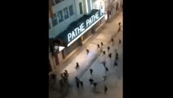 Noche Terror Purga Francia Halloween Policía