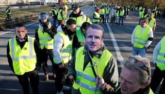 Protesta ciudadana contra Macron en Francia deja un muerto