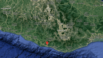 Sismo de magnitud 4.3 sacude Oaxaca